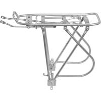 Merida CR-DE009 Bagażnik rowerowy tylny regulowany 26/28 cali srebrny