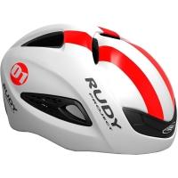 Rudy Project Boost 01 Kask szosowy triathlon White Red Fluo Shiny