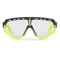 Rudy Project Defender ImpactX Okulary szosowe triathlon MTB żółto czarne