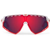 Rudy Project Defender RP Optics Okulary szosowe triathlon MTB biało czerwone