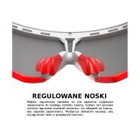 Rudy Project Defender Zestaw do kastomizacji azur rubber