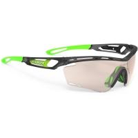 Rudy Project Tralyx ImpactX Okulary szosowe triathlon biegowe grafitowo zielone
