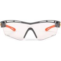 Rudy Project Tralyx ImpactX Okulary szosowe triathlon biegowe czarno pomarańczowe