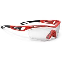 Rudy Project Tralyx ImpactX Okulary szosowe triathlon biegowe czerwono czarne