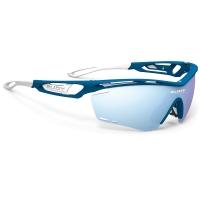 Rudy Project Tralyx RP Optics Okulary szosowe triathlon biegowe granatowo białe
