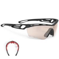 Rudy Project Tralyx Slim ImpactX Okulary szosowe triathlon biegowe czarne laser red
