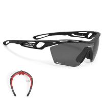 Rudy Project Tralyx Slim RP Optics Okulary szosowe triathlon biegowe czarne