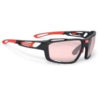 Rudy Project Sintryx ImpactX Okulary rowerowe triathlon MTB czarno czerwone
