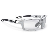 Rudy Project Sintryx ImpactX Okulary rowerowe triathlon MTB biało czarne