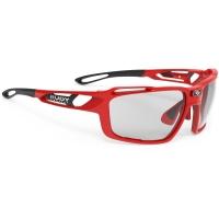 Rudy Project Sintryx ImpactX Okulary rowerowe triathlon MTB czerwono czarne