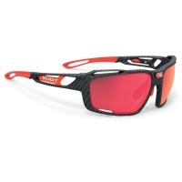 Rudy Project Sintryx Polar 3FX HDR Okulary rowerowe triathlon MTB czarno czerwone