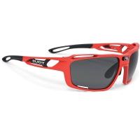 Rudy Project Sintryx RP Optics Okulary rowerowe triathlon MTB czerwono czarne