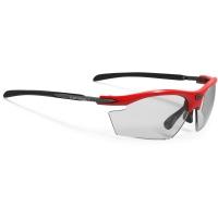 Rudy Project Rydon ImpactX Okulary szosowe triathlon MTB biegowe czerwono czarne