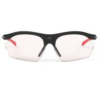 Rudy Project Rydon ImpactX Okulary szosowe triathlon MTB biegowe czarno czerwone