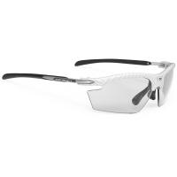 Rudy Project Rydon ImpactX Okulary szosowe triathlon MTB biegowe biało czarne