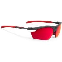 Rudy Project Rydon Polar 3FX HDR Okulary szosowe triathlon MTB biegowe grafitowo czerwone
