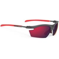 Rudy Project Rydon RP Optics Okulary szosowe triathlon MTB biegowe grafitowo czerwone