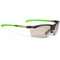 Rudy Project Rydon Slim ImpactX Okulary szosowe triathlonowe MTB biegowe zielono czarne