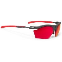 Rudy Project Rydon Slim Polar 3FX HDR Okulary szosowe triathlon MTB biegowe grafitowo czerwone