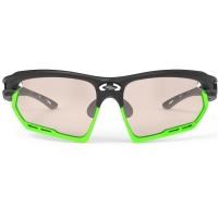 Rudy Project Fotonyk ImpactX Okulary szosowe MTB biegowe zielono czarne