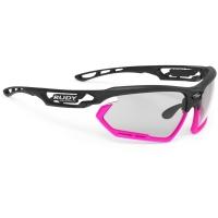 Rudy Project Fotonyk ImpactX Okulary szosowe MTB biegowe czarno różowe