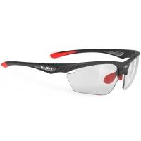 Rudy Project Stratofly ImpactX Okulary szosowe biegowe czarno zielone