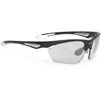 Rudy Project Stratofly ImpactX Okulary szosowe biegowe czarno białe