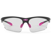 Rudy Project Stratofly ImpactX Okulary szosowe biegowe czarno różowe