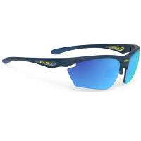 Rudy Project Stratofly RP Optics Okulary szosowe biegowe granatowo niebieskie
