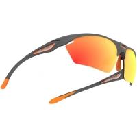 Rudy Project Stratofly RP Optics Okulary szosowe biegowe szaro pomarańczowe