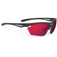 Rudy Project Stratofly RP Optics Okulary szosowe biegowe czarno czerwone