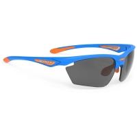Rudy Project Stratofly RP Optics Okulary szosowe biegowe niebiesko pomarańczowe