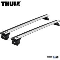 Thule WingBar Evo Bagażnik dachowy Seat Leon ST 5-dr Kombi 2014- na zintegrowane relingi srebrny
