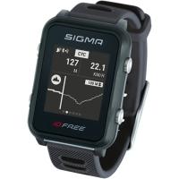 Sigma iD.Free.HR Zegarek z pulsometrem GPS czarny 2020