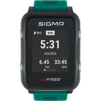 Sigma iD.Free.HR Zegarek z pulsometrem GPS zielony 2020