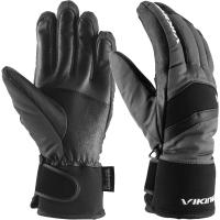 Viking Piemont Rękawice narciarskie męskie szaro czarne