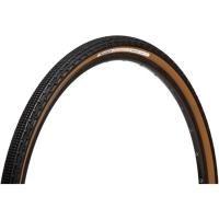 Panaracer Gravelking SK 700c Opona przełajowa aramid zwijana czarno brązowa