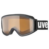 Uvex g.gl 3000 P Gogle narciarskie polavision black mat brown