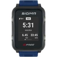 Sigma iD.Free.HR Zegarek z pulsometrem GPS niebieski 2020