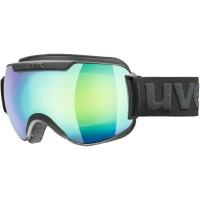 Uvex Downhill 2000 FM Gogle narciarskie supravision black mat mirror rainbow