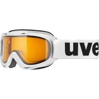 Uvex Slider LGL Gogle narciarskie white lasergold lite clear