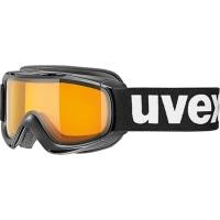Uvex Slider LGL Gogle narciarskie black lasergold lite clear