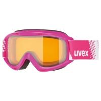 Uvex Slider LGL Gogle narciarskie pink lasergold lite clear