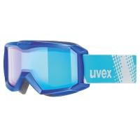 Uvex Flizz FM Gogle narciarskie junior dziecięce blue mirror blue