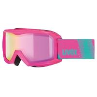 Uvex Flizz FM Gogle narciarskie junior dziecięce pink mirror pink