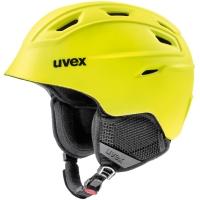 Uvex Fierce Kask narciarski snowboard yellow mat