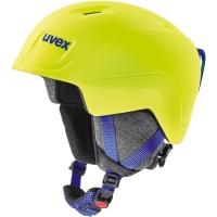 Uvex Manic Pro Kask narciarski snowboard junior neon yellow