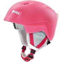 Uvex Manic Pro Kask narciarski snowboard junior pink met