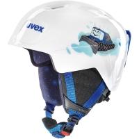 Uvex Manic Kask narciarski snowboard junior white caterpillar