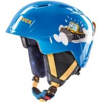 Uvex Manic Kask narciarski snowboard junior blue caterpillar
